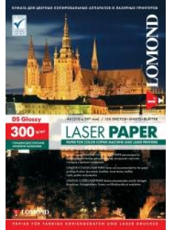 Бумага для лазерной печати (300/А4/150л.) глянцевая двусторонняя LOMOND 0310743