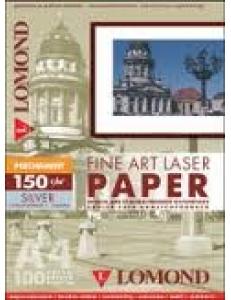 Бумага для лазерной печати АРТ(150/А4/100л.) Perchament silver LOMOND 0914045