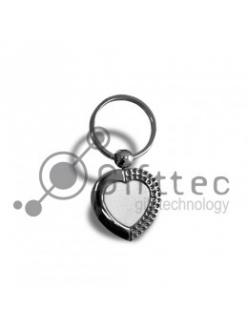 Брелок для ключей,в виде сердца.(металл)-055 10051