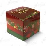 """Коробка подарочная для кружки без окна """"С Новым Годом"""" 10383"""