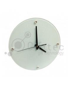 Часы стеклянные d=30см SC15 10528