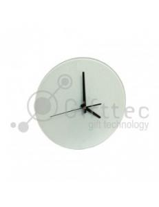 Часы стеклянные d=18см SC27 10530