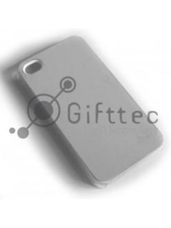 IPhone 4/4S - Прозрачный чехол пластиковый (вставка под сублимацию) 10830