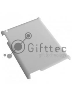 IPad 2/3 - Белый чехол глянцевый пластик (для 3D-машины вакуумной) 10929