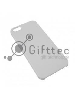 IPhone 5/5S - Белый чехол глянцевый пластик (для 3D-машины вакуумной) 10931