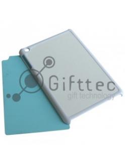 IPad mini - Белый чехол пластиковый (вставка под сублимацию) 10937