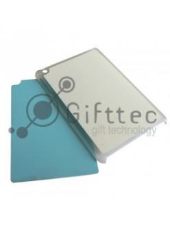 IPad mini - Прозрачный чехол пластиковый (вставка под сублимацию) 10938