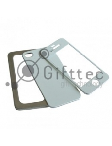 IPhone 4/4S - Алюминиевый чехол (цвет: серебро) 10939