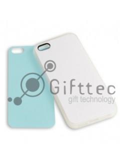 IPhone 5/5S - Прозрачный силиконовый чехол (вставка под сублимацию) 10955