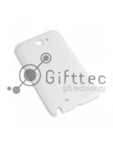 Samsung Note 2 n7100 - Белый чехол глянцевый пластик (для 3D-машины вакуумной) 10984