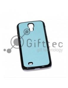 Samsung Galaxy S4 i9500 - Чёрный чехол пластиковый (вставка под сублимацию) 10986