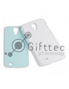 Samsung Galaxy S4 i9500 - Белый чехол пластиковый (вставка под сублимацию) 10987