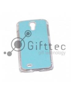 Samsung Galaxy S4 i9500 - Прозрачный чехол пластиковый (вставка под сублимацию) 10988