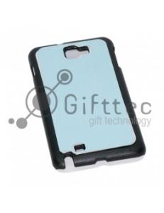 Samsung Galaxy Note i9220 - Чёрный чехол пластиковый (вставка под сублимацию) 10999