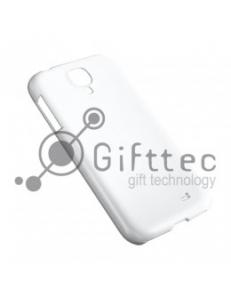 Samsung Galaxy S4 mini - Белый чехол матовый пластик (для 3D-машины вакуумной) 11063