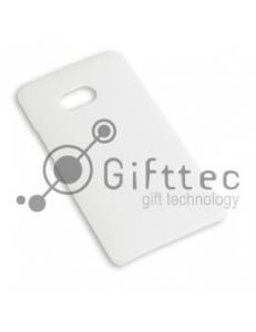 HTC One - Белый чехол глянцевый пластик (для 3D-машины вакуумной) 11066