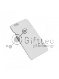 IPhone 6 - Белый чехол глянцевый пластик (для 3D-машины вакуумной) 11088