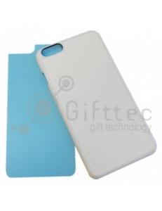 IPhone 6 PLUS- Белый чехол пластиковый (вставка под сублимацию) 11157