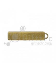 Брелок для ключей ГОСНОМЕР ЗОЛОТО под сублимацию (комплект для изготовления брелока) упаковка 10шт 11250
