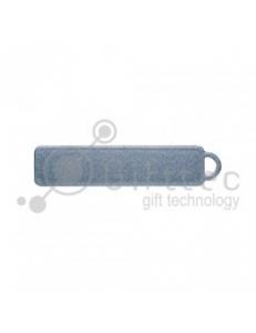 Брелок для ключей ГОСНОМЕР СЕРЕБРО под сублимацию (комплект для изготовления брелока) упаковка 10шт 11251