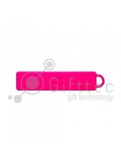 Брелок для ключей ГОСНОМЕР РОЗОВЫЙ под сублимацию (комплект для изготовления брелока) упаковка 10шт 11252