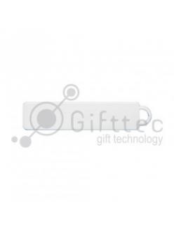 Брелок для ключей ГОСНОМЕР СВЕТЯЩИЙСЯ под сублимацию (комплект для изготовления брелока) упаковка 10шт 11253