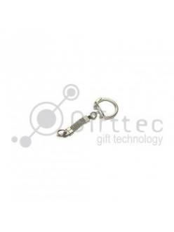 Брелок для ключей Круг (медальон) ФЛУОРЕСЦЕНТНЫЙ упаковка 10шт 11266
