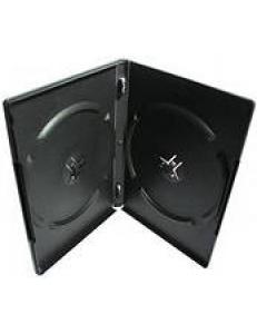 Бокс на  2 DVD 14мм (черный глянцевый) 2000011490010