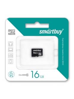Карта памяти 16Gb micro SDHC Class10 без адаптера SmartBuy 4690626042599