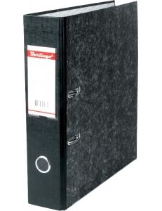 """Регистратор 70мм черный, карман, мрамор <АМ4710> """"BERLINGO""""Standard"""" 119937"""