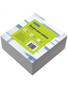 """Блок для записей 90х90х50мм белый на склейке <КБ9-5 Бп> """"Спейс"""" 153172"""