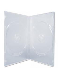 Бокс на 2 DVD 14мм (прозрачный глянцевый) 2000155050019