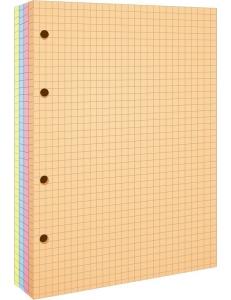 """Блок сменный для общей тетради А5 200л. 4цвет. """"Спейс"""" 157314"""