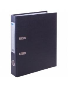 """Регистратор 50мм черный, с карманом на корешке """"OfficeSpace"""" 162574"""