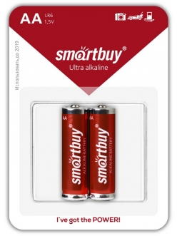 Батарейка SMART BUY LR06/AA Аlkaline 2BL (24)
