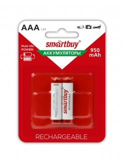 Аккумулятор SMART BUY R3/AAA NiMH  950mAh 2BL