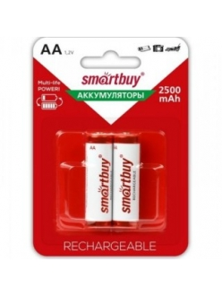 Аккумулятор SMART BUY R6/AA NiMH 2500mAh 2BL