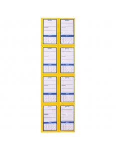 """Ценник """"Овал 8"""", упаковка 30л. по 8шт. 62*37мм """"OfficeSpace"""" 177978"""