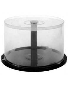 Пластиковая банка для 50 CD/DVD