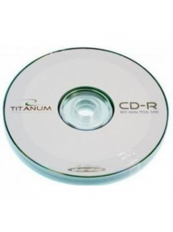 CD-R Titanum 700MB 80мин.56x (10шт.)в пленке