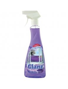 """Средство для мытья стекол и зеркал Glanz """"Лаванда"""", 500мл, с курком <22-2135> Синтезбытхим 193408"""
