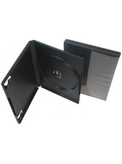 Бокс на  1 DVD  9mm (черный глянцевый) Slim 2000100740019