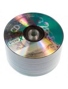 "CD-R Videx 700MB 80мин.52x ""X-GREEN"" в пленке (50шт.) 2000102620012"