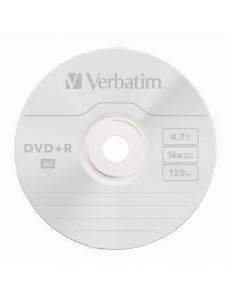 DVD+R Verbatim 4.7Gb 16x тех.уп.( 50шт.)в пленке 2000104890017