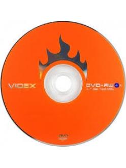 "DVD+RW VIDEX 4.7Gb 4x ""Brand"" в пленке (10шт.) 2000108650013"