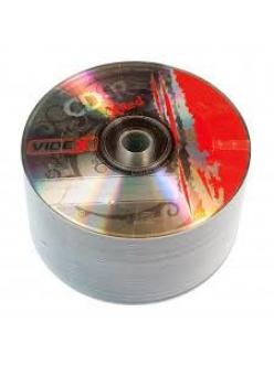 "CD-R Videx 700MB 80мин.52x ""X-RED"" в пленке (50шт.) 2000144500013"