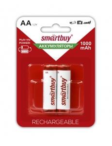 Аккумулятор SMART BUY R6/AA NiMH 1000mAh 2BL