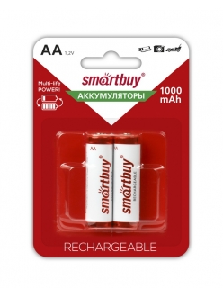 Аккумулятор SMART BUY R6/AA NiMH 1000mAh 2BL