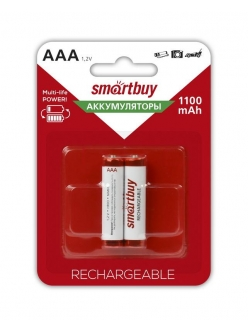 Аккумулятор SMART BUY R3/AAA NiMH 1100mAh 2BL