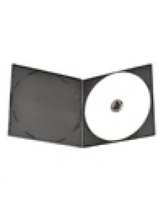 Бокс на  1 DVD  5mm (черный глянцевый) Slim Half 2000205080010